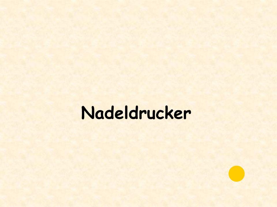 Nadeldrucker