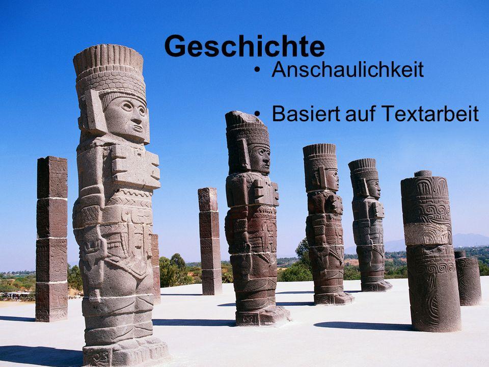 Geschichte Anschaulichkeit Basiert auf Textarbeit