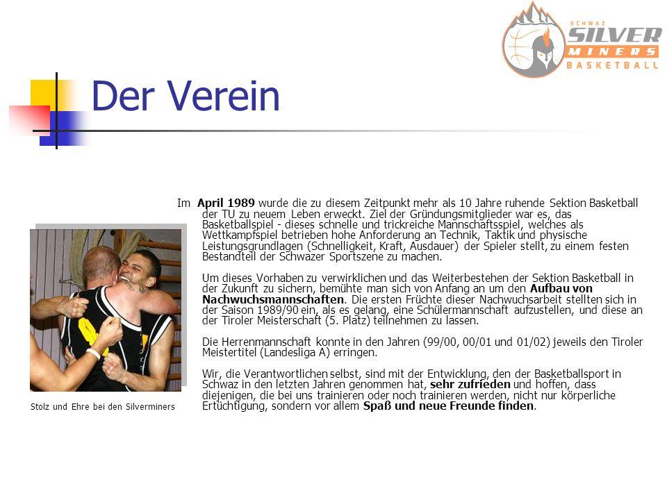 Der Verein Im April 1989 wurde die zu diesem Zeitpunkt mehr als 10 Jahre ruhende Sektion Basketball der TU zu neuem Leben erweckt. Ziel der Gründungsm