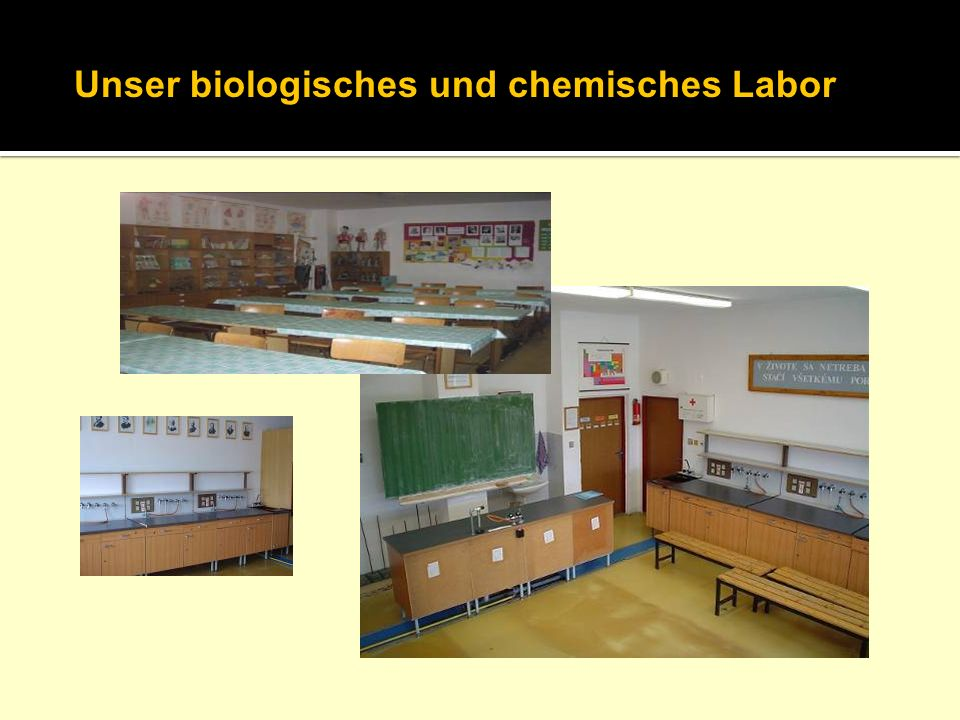 Unser biologisches und chemisches Labor