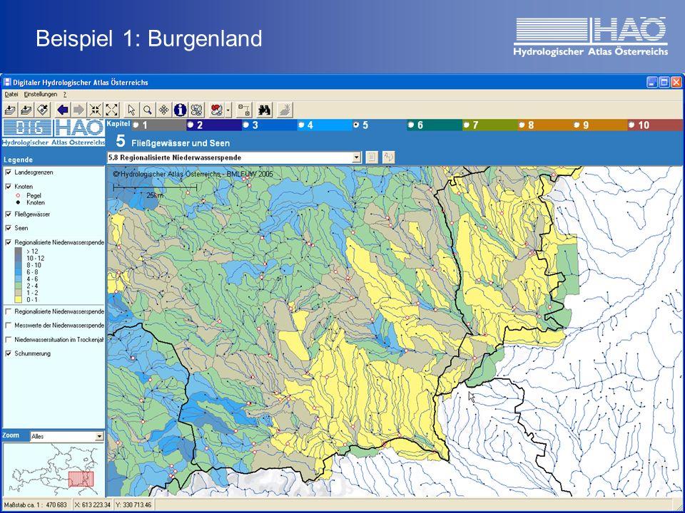 Beispiel 1: Burgenland
