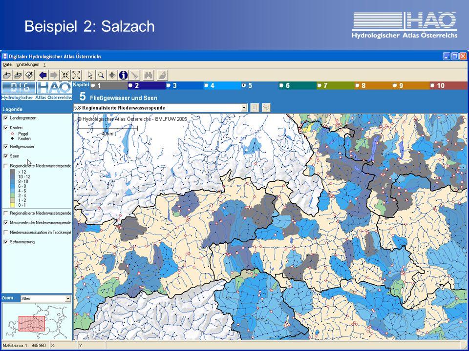 Beispiel 2: Salzach