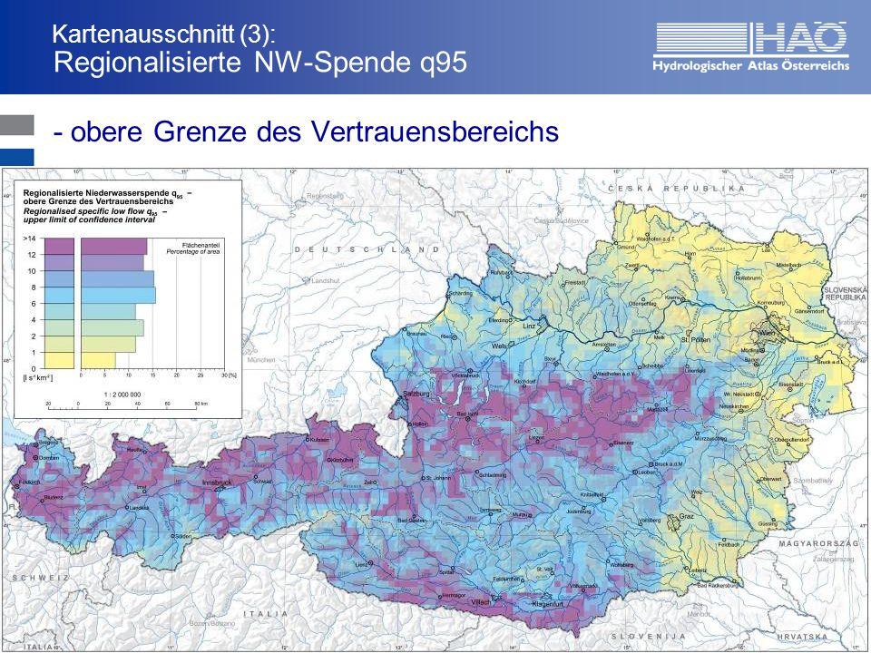 Kartenausschnitt (3): Regionalisierte NW-Spende q95 - obere Grenze des Vertrauensbereichs