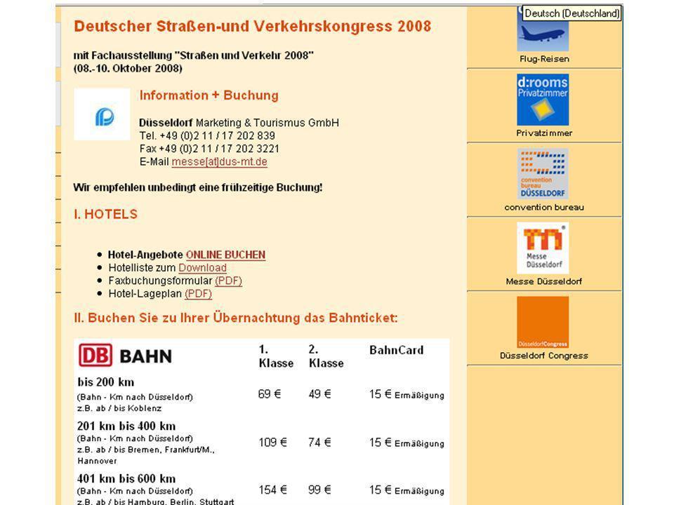 Ab 2009 NEU: Grafische Optimierung des Screendesigns Optimierung der Hoteladressausgaben Vergrößerung des Textfeldes zur Beschreibung des Hotels Bildergalerie mit Mouse-Over Integration von Karten bei jeder Hotelansicht