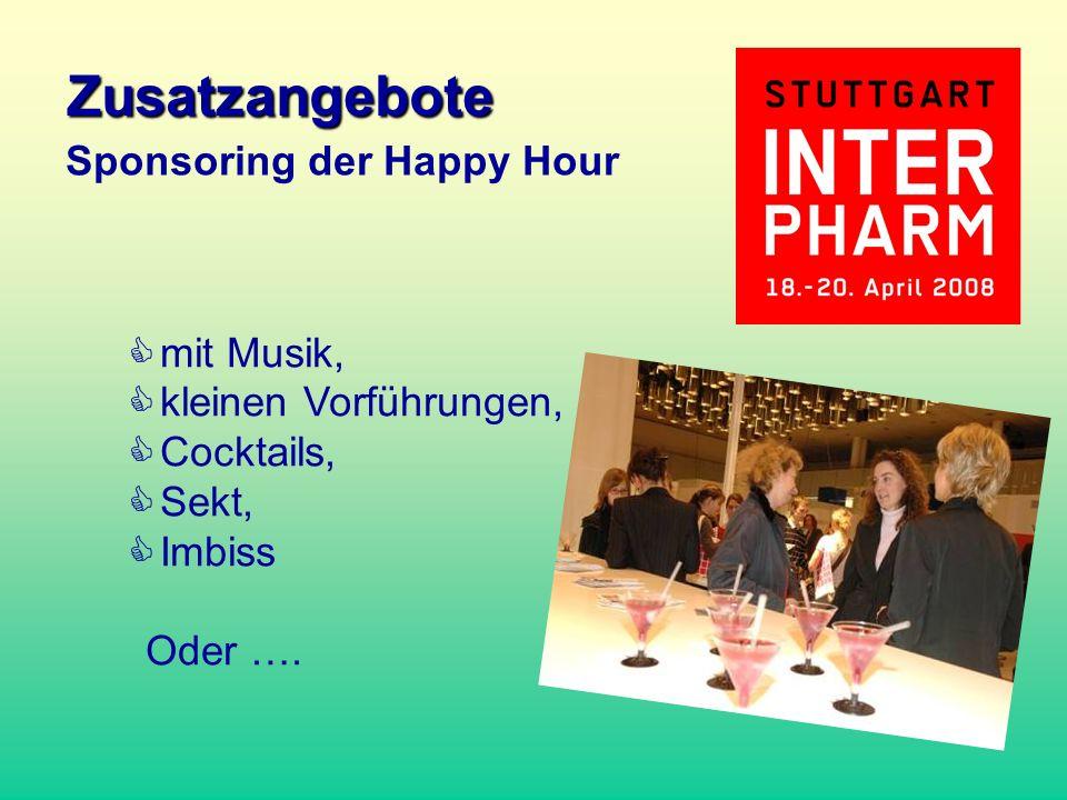mit Musik, kleinen Vorführungen, Cocktails, Sekt, Imbiss Oder …. Sponsoring der Happy Hour Zusatzangebote
