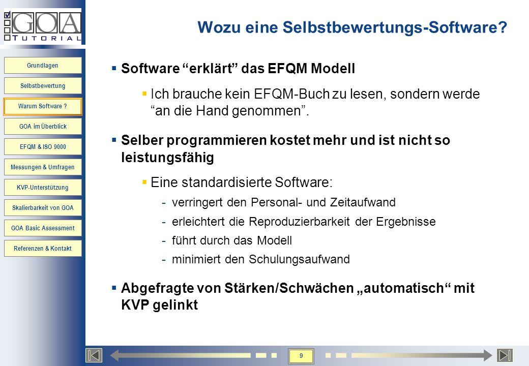 Grundlagen Selbstbewertung Warum Software .