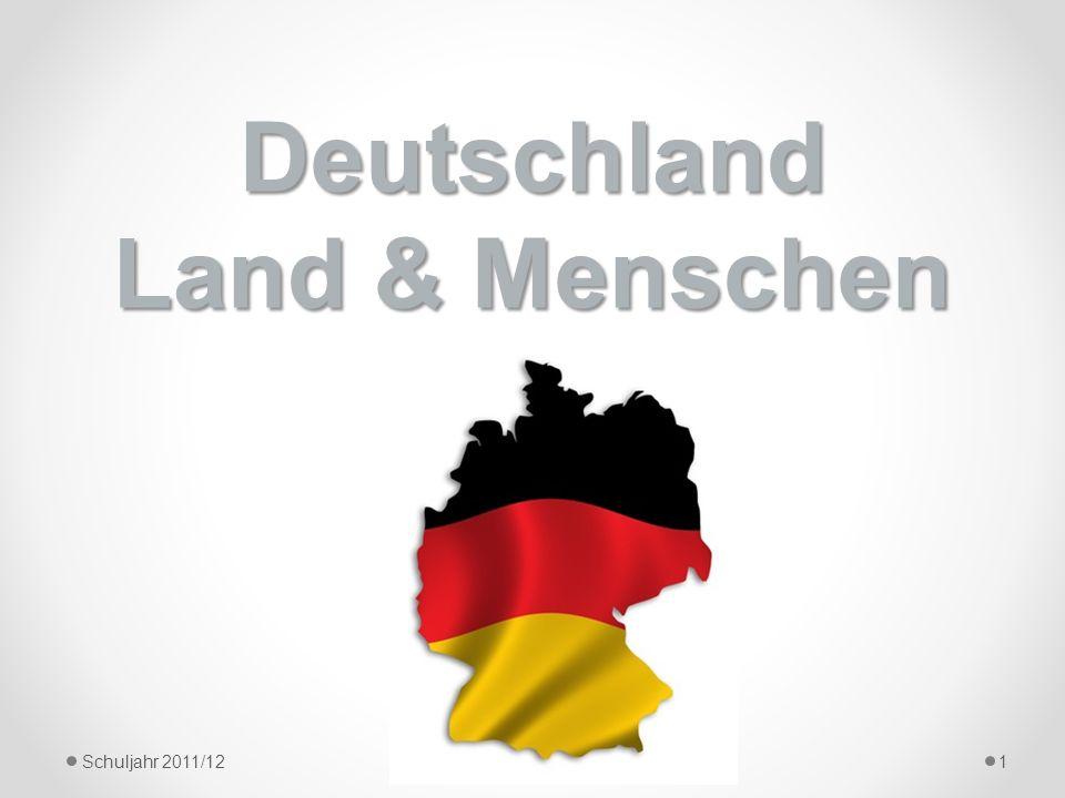Deutschland Land & Menschen Schuljahr 2011/121