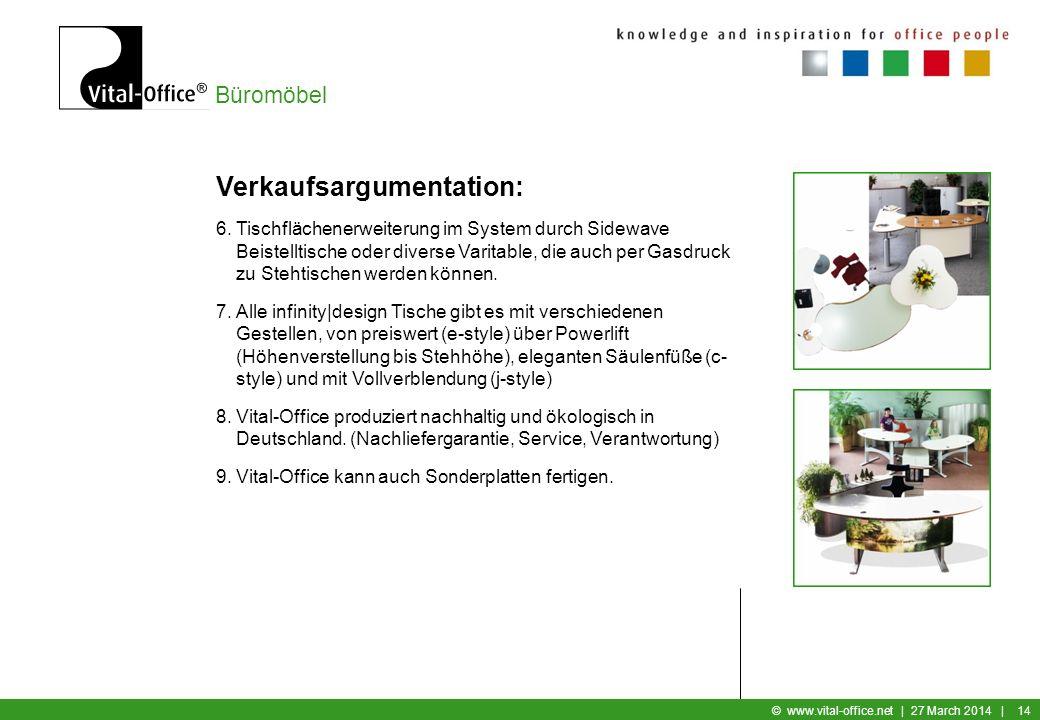 Büromöbel © www.vital-office.net | 27 March 2014 | 13 Verkaufsargumentation: 5.Hochwertige Tischplatten mit profilierten Kanten. MDF ist ein homogenes
