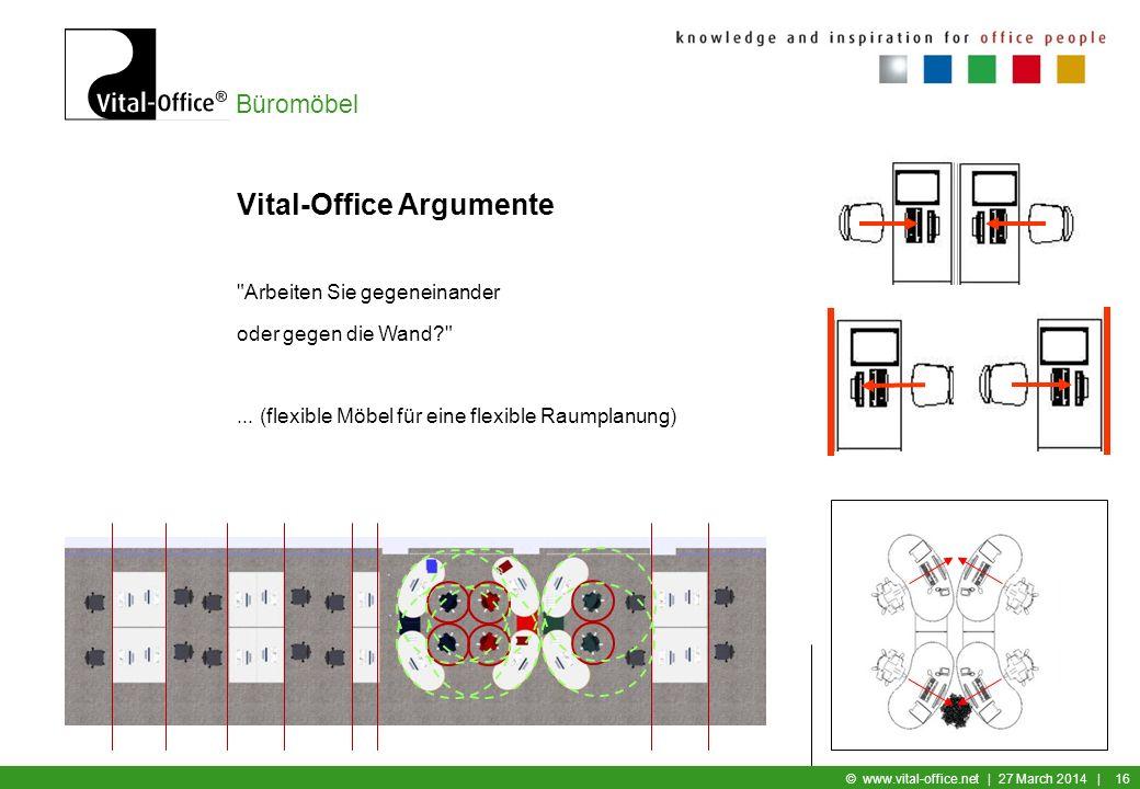 Büromöbel © www.vital-office.net | 27 March 2014 | 15 Vital-Office Argumente