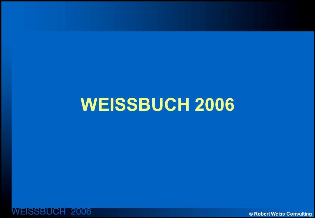 © Robert Weiss Consulting WEISSBUCH 2006