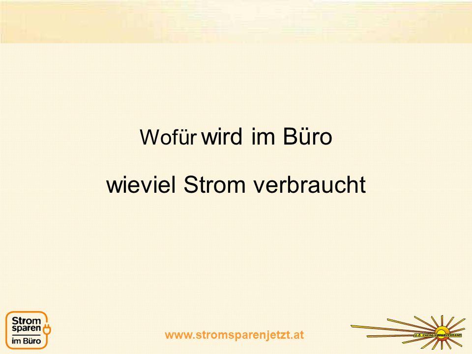 www.stromsparenjetzt.at Stromkosten vor & nach der Umsetzung von Stromspar-Maßnahmen www.stromsparenjetzt.at