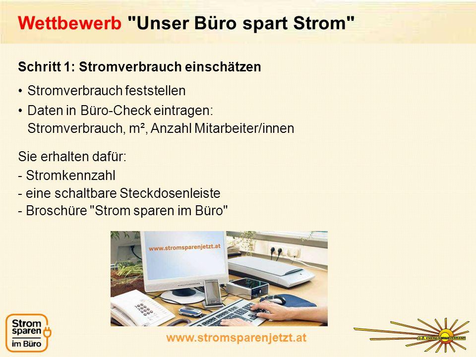 www.stromsparenjetzt.at Wettbewerb
