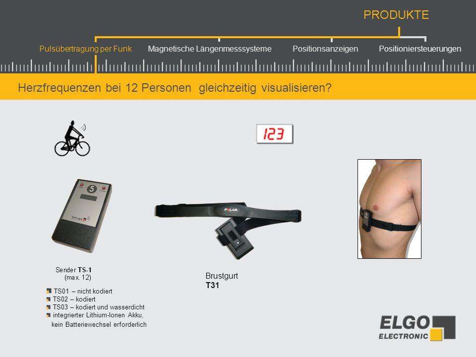 Pulsübertragung per Funk Magnetische Längenmesssysteme Positionsanzeigen Positioniersteuerungen PRODUKTE Gesamtüberblick...