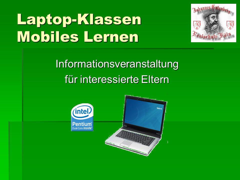 Projekt Pilotprojekt Laptopklassen an Kölner Schulen seit 2008 Pilotprojekt Laptopklassen an Kölner Schulen seit 2008 3 Schulen in Köln starteten dieses Projekt 3 Schulen in Köln starteten dieses Projekt 5.
