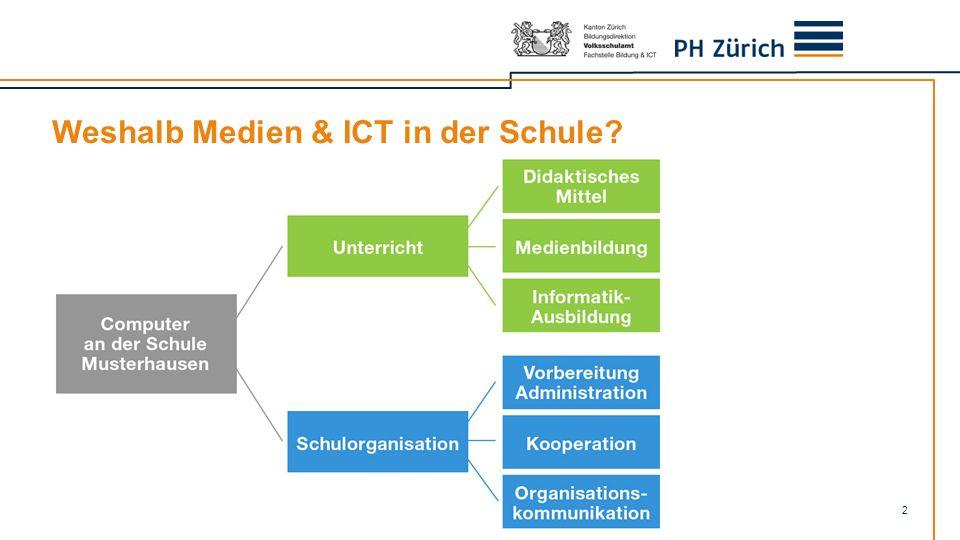 Weshalb Medien & ICT in der Schule? 2