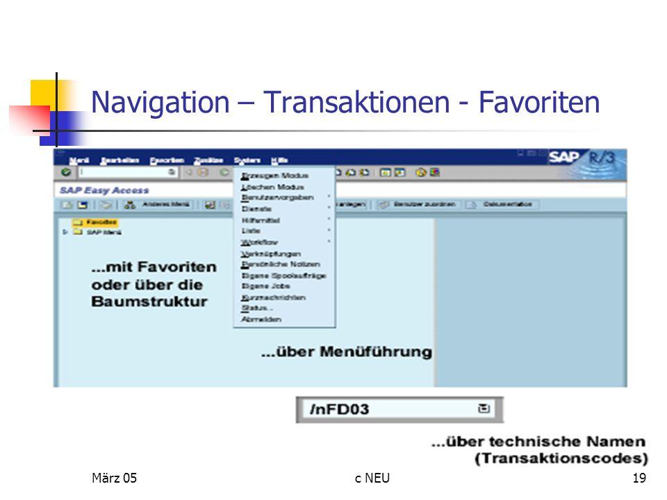 März 05c NEU19 Navigation – Transaktionen - Favoriten
