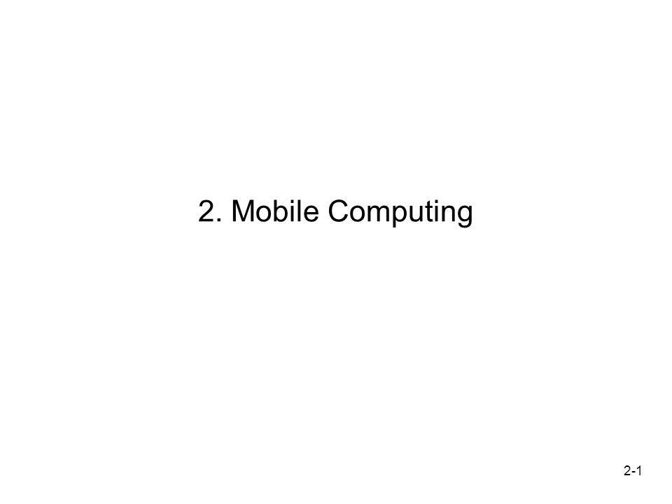 2-1 2. Mobile Computing