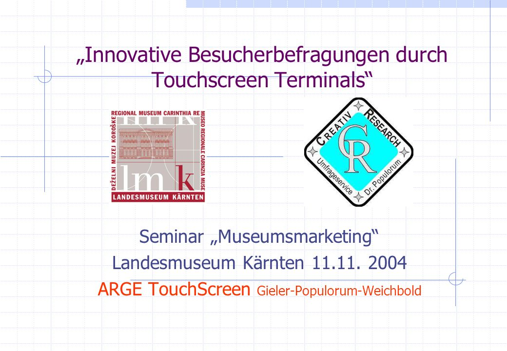 ARGE TouchScreen ARGE TouchScreen Dr.
