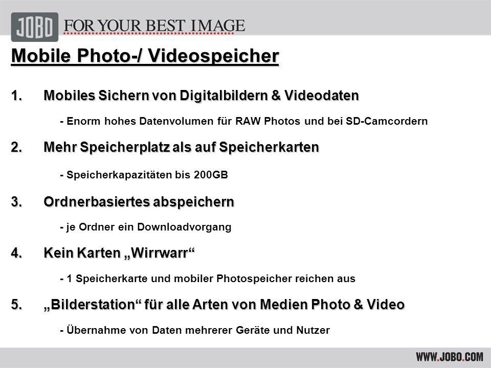 GIGA one ultra GIGA Vu extreme Mobiles Speichern & Betrachten Mobiles Speichern, Betrachten & prof.