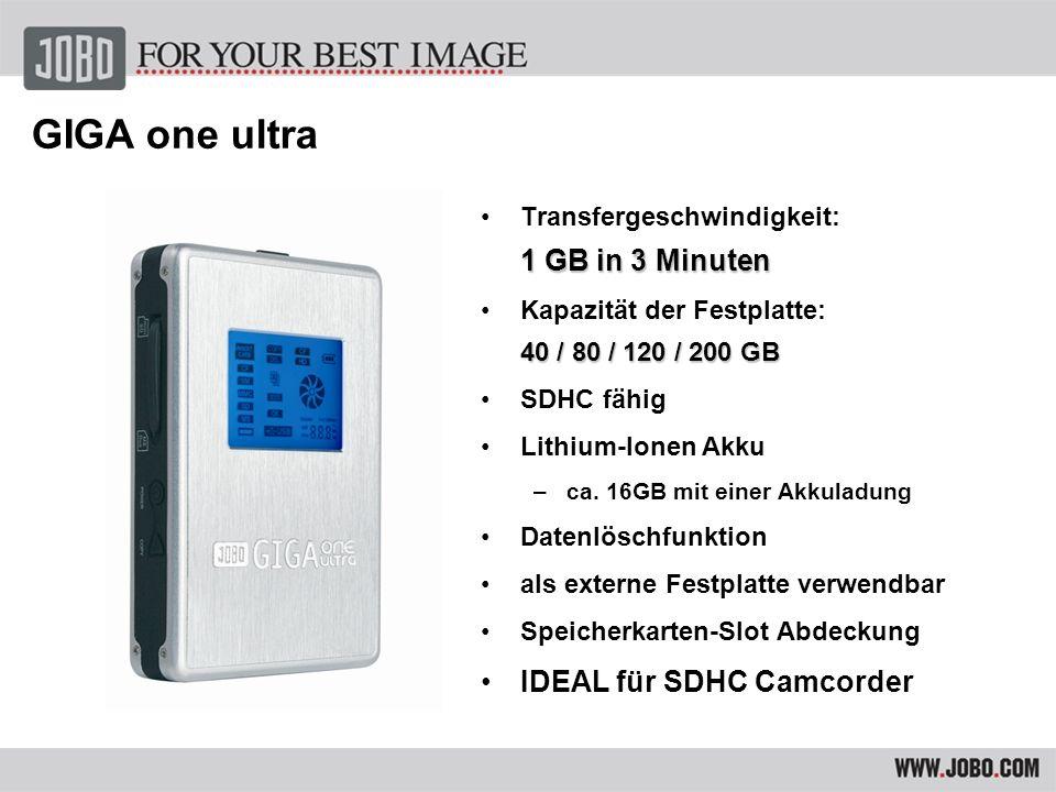 Umfangreiche Anschluss Möglichkeiten Liest/Speichert alle gängigen Speicherkarten mit automatischem Verify Prozess 1GB in 4min.