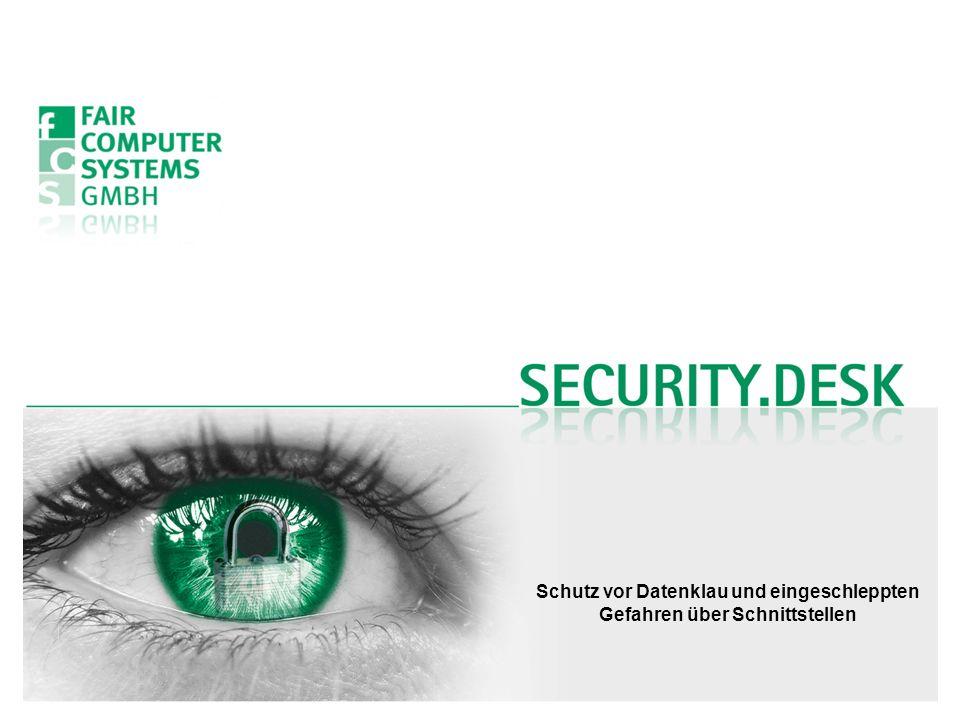 Schutz vor Datenklau und eingeschleppten Gefahren über Schnittstellen