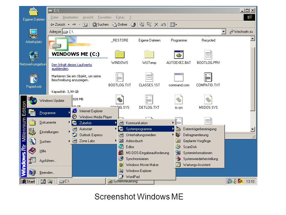 Windows 2000 Windows 2000 galt zu seiner Zeit als das größte kommerzielle Softwareprojekt der Geschichte, es hat nach Angaben von Microsoft zwei Milliarden US Dollar gekostet und mindestens 2000 Programmierer beschäftigt Windows 2000 setzt nicht mehr auf DOS Windows 2000 Professional ist eines der stabilsten Betriebssysteme von Microsoft Windows 2000 Professional war im Gegensatz zu den Produkten der Windows 9x-Reihe für den Business-Bereich konzipiert und wurde während der ersten Jahre ganz überwiegend in Unternehmen eingesetzt.