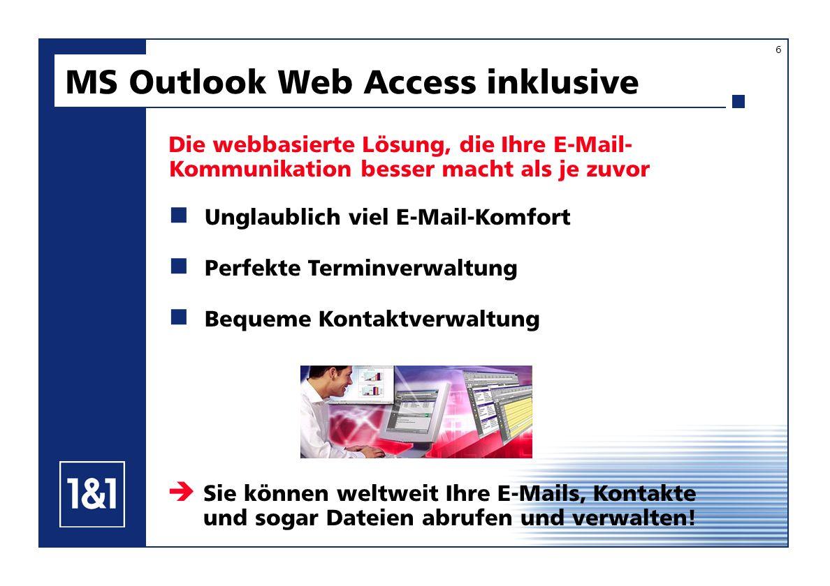 Die webbasierte Lösung, die Ihre E-Mail- Kommunikation besser macht als je zuvor Unglaublich viel E-Mail-Komfort Perfekte Terminverwaltung Bequeme Kon