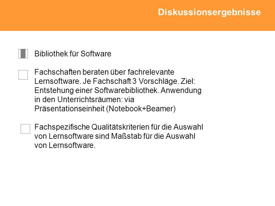 Bibliothek für Software Fachschaften beraten über fachrelevante Lernsoftware.