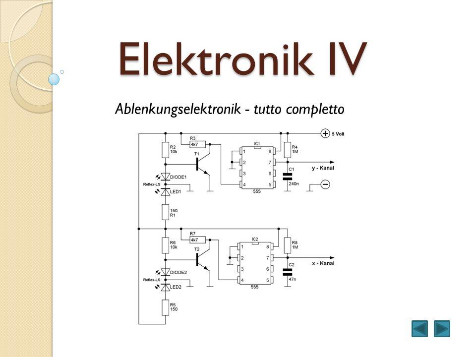 Elektronik IV Ablenkungselektronik - tutto completto