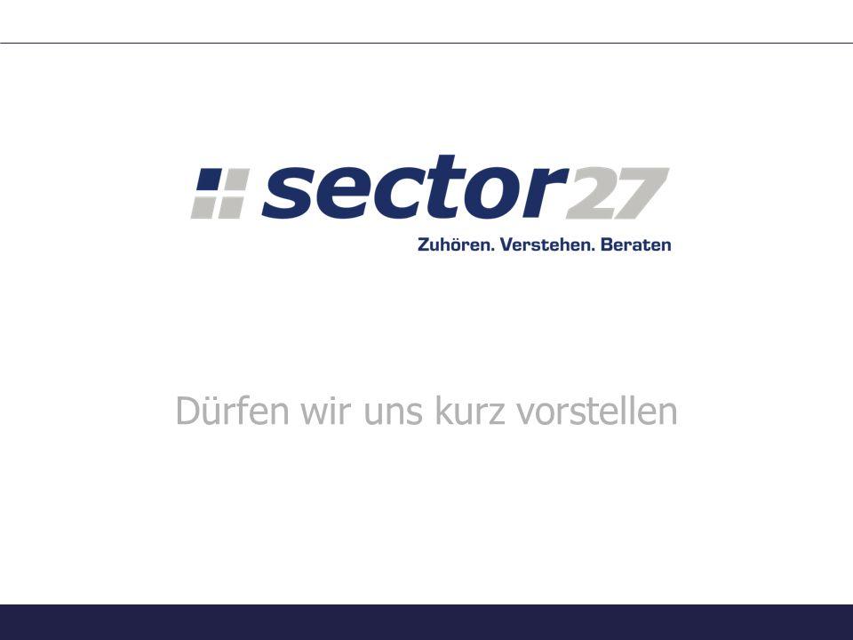 Unterstützte Plattformen sector27 – Zuhören. Verstehen. Beraten.12