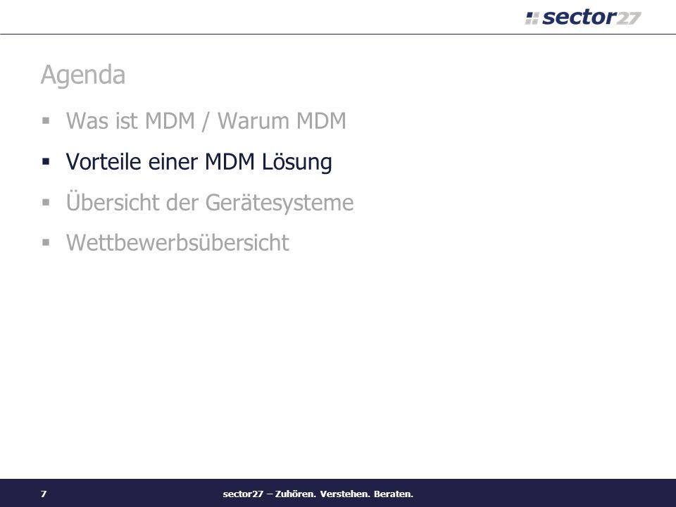 sector27 – Zuhören.Verstehen.