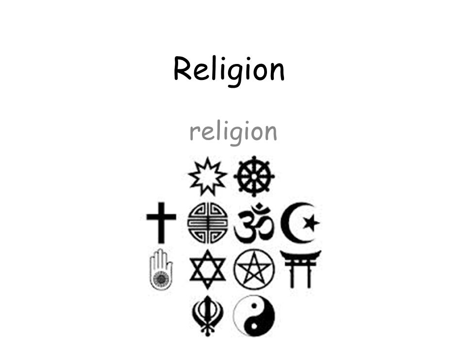 Religion religion