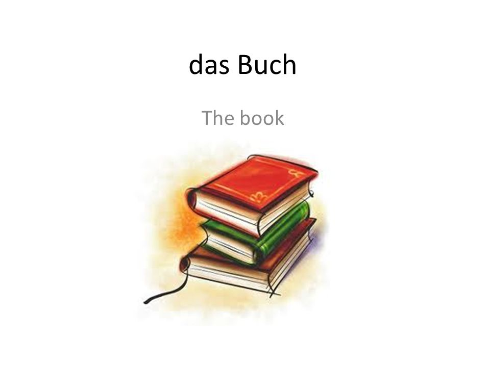 das Buch The book