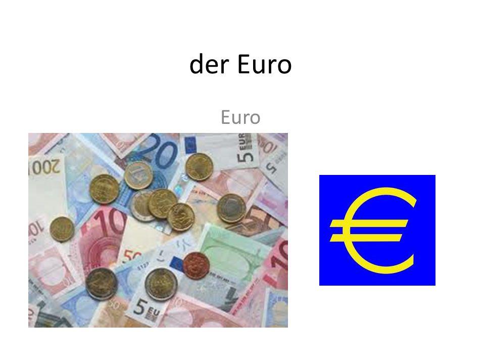 der Euro Euro