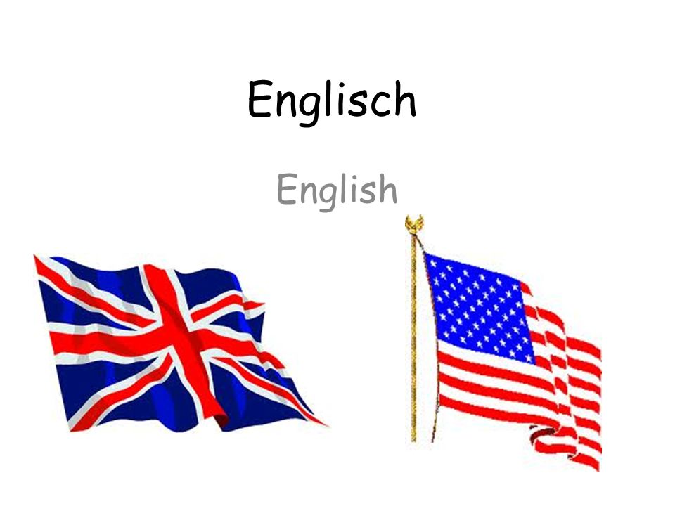 Englisch English