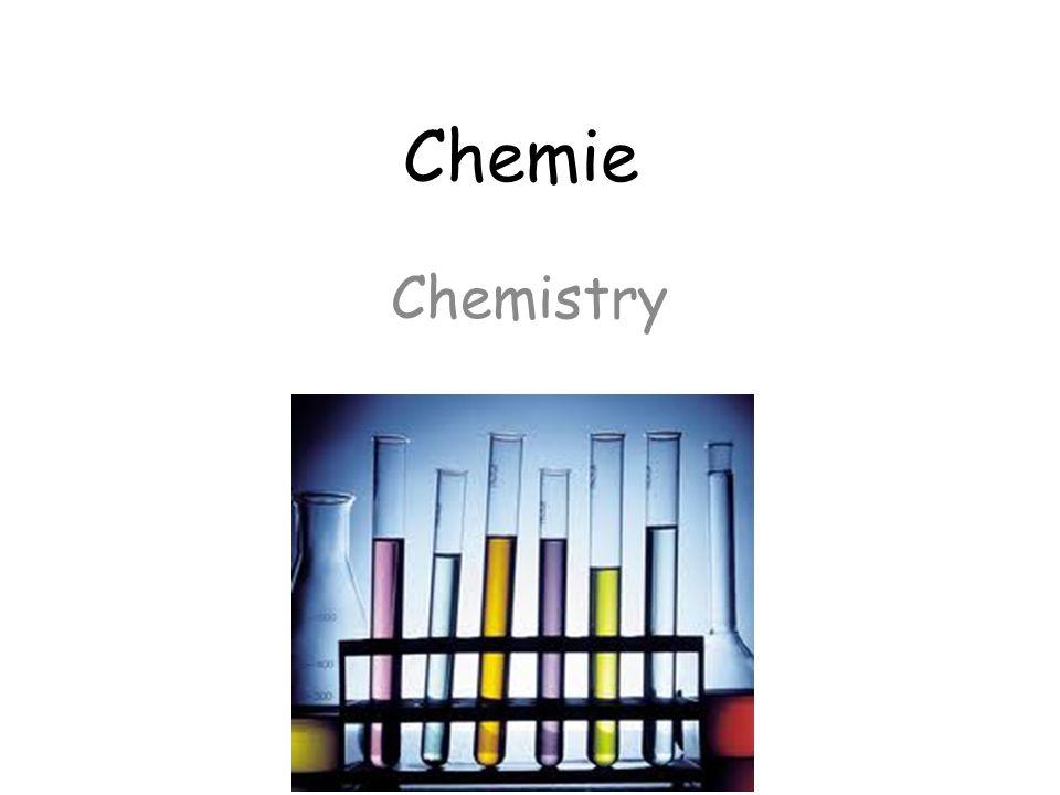 Chemie Chemistry