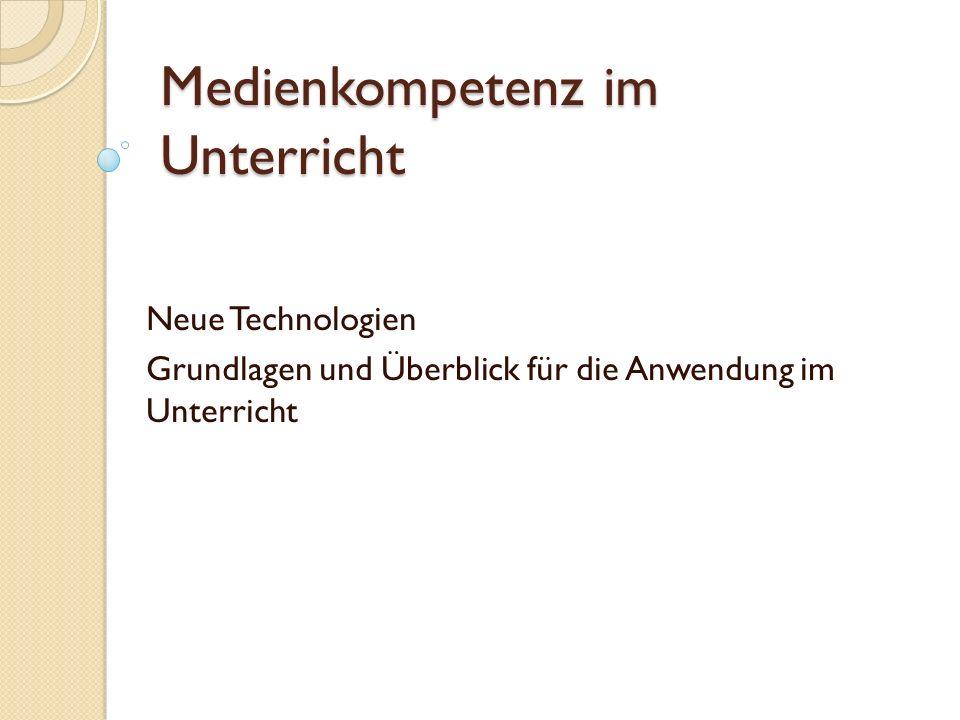 Inhalte Modellierung Auszeichnungssprachen Mobile Endgeräte kollaborative Arbeitstechniken Datenschutz und -sicherheit