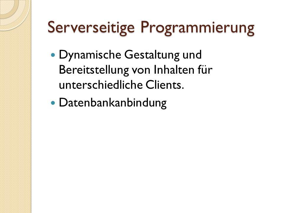Beispiel PHP