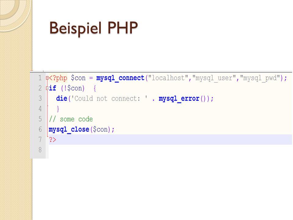 Clientseitige Programmierung Diese Programmiersprachen (Script- Sprachen) werden auf dem Client, zu meist Browser, zur Bereitstellung von dynamischen Inhalten verwendet.