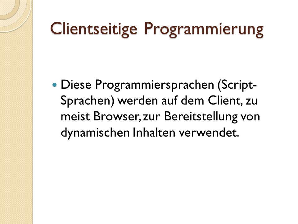 Beispiel JavaScript