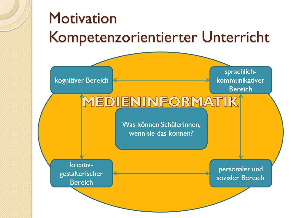 Motivation Nutzen für den Unterricht Anbahnen von Wissenstransfer Nachhaltigkeit Wahlfreiheit bei den Werkzeugen (Software)