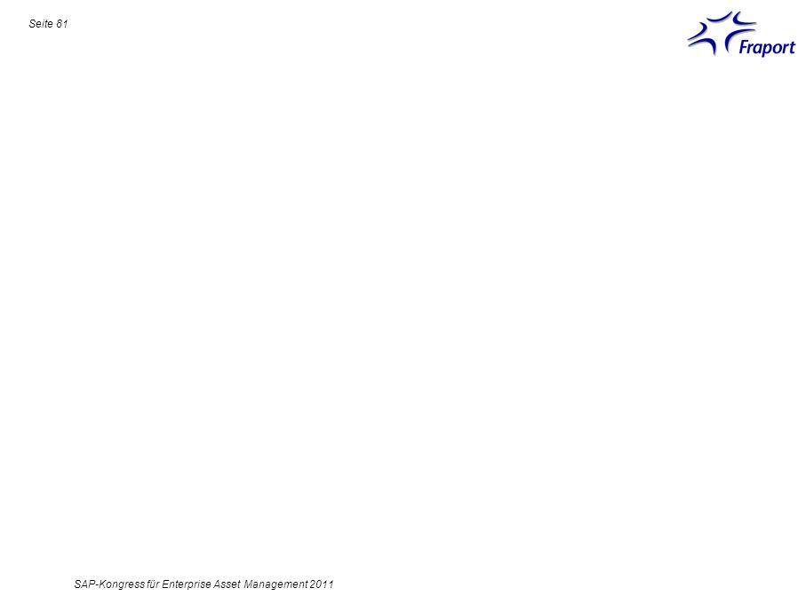 Seite 81 SAP-Kongress für Enterprise Asset Management 2011