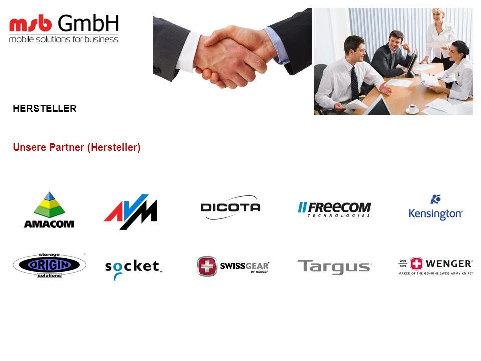 HERSTELLER Unsere Partner (Hersteller)