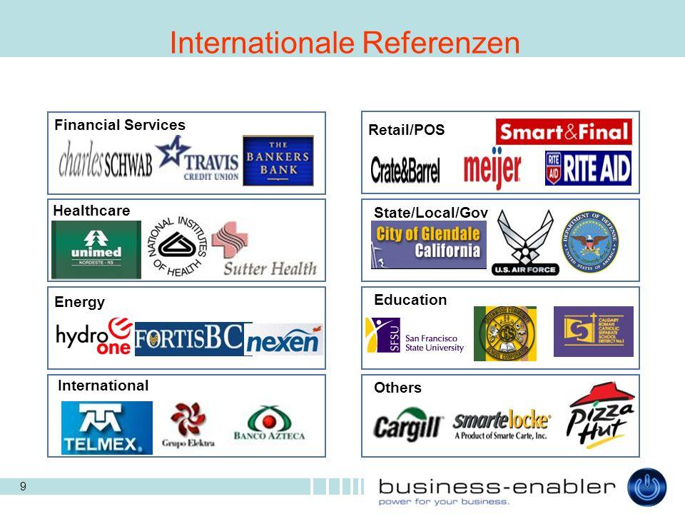 20 Enterprise Fingerprint- authentifikation Lösung für Unternehmens- netzwerkeDeveloper Hoch performante Software-Toolkits und optische Fingerprintreader.Consumer Fingerprint- authentifikation Lösung für OEMs (Handel) Marktsegmente