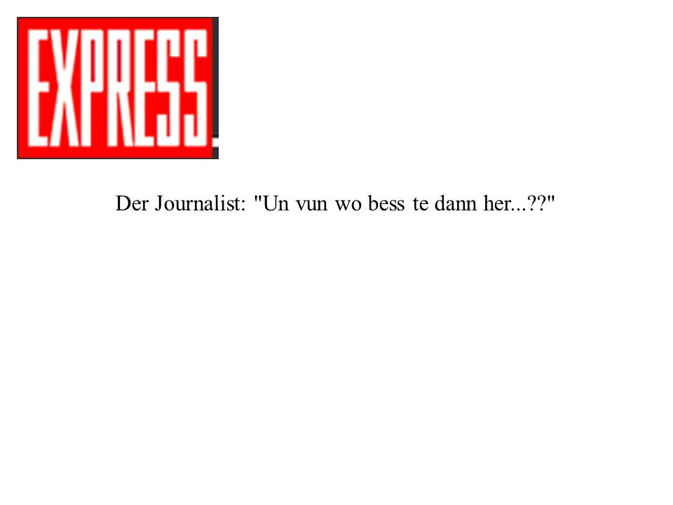 Der Journalist: