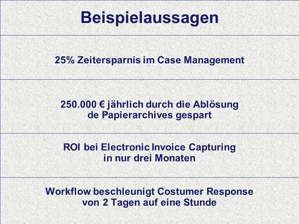 10 Computerwoche ECM Initiative Dr. Ulrich Kampffmeyer PROJECT CONSULT Unternehmensberatung Dr.