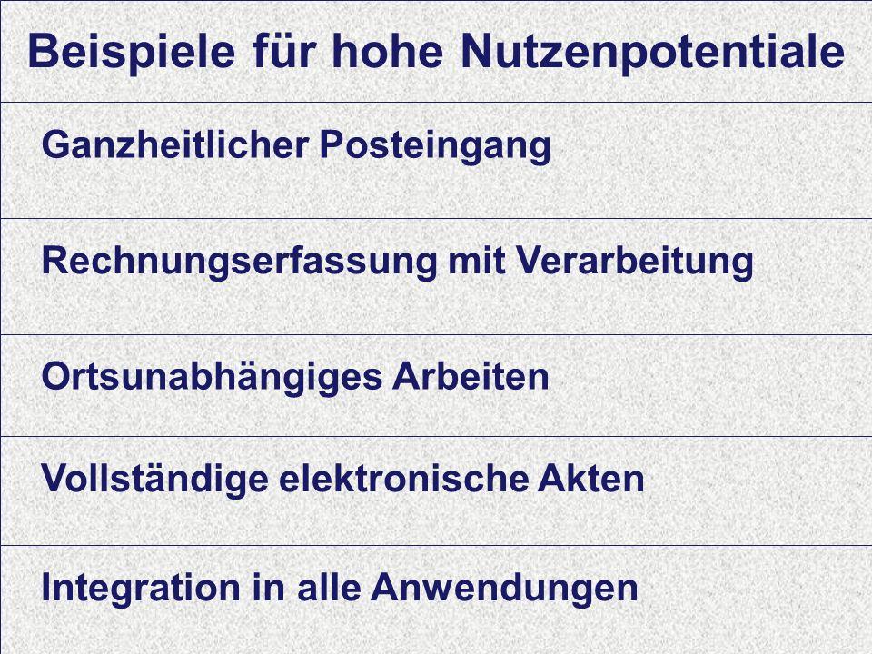 16 Computerwoche ECM Initiative Dr. Ulrich Kampffmeyer PROJECT CONSULT Unternehmensberatung Dr.