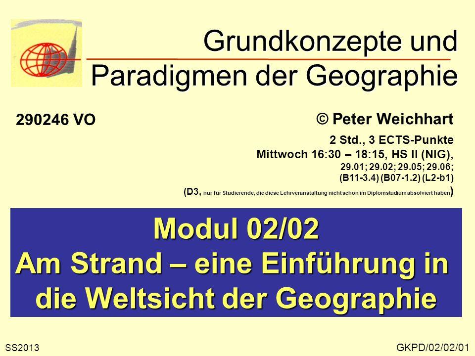 GKPD/02/02/02 Strandleben Quelle: P. HAGGETT, 1979, 3. Aufl., Abb. 1-1