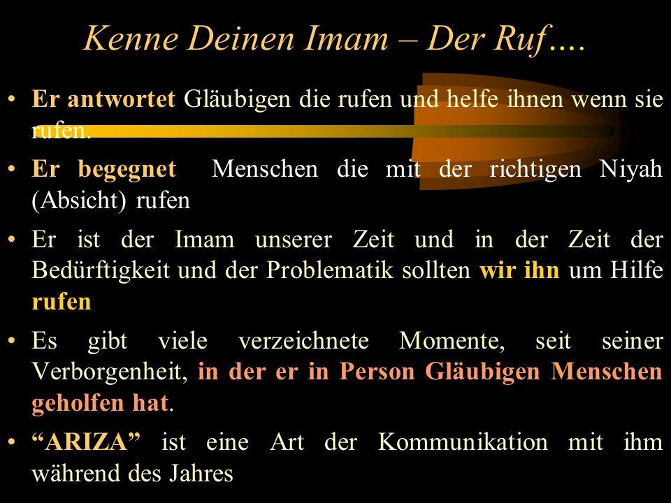 Kenne Deinen Imam – Das Warten...