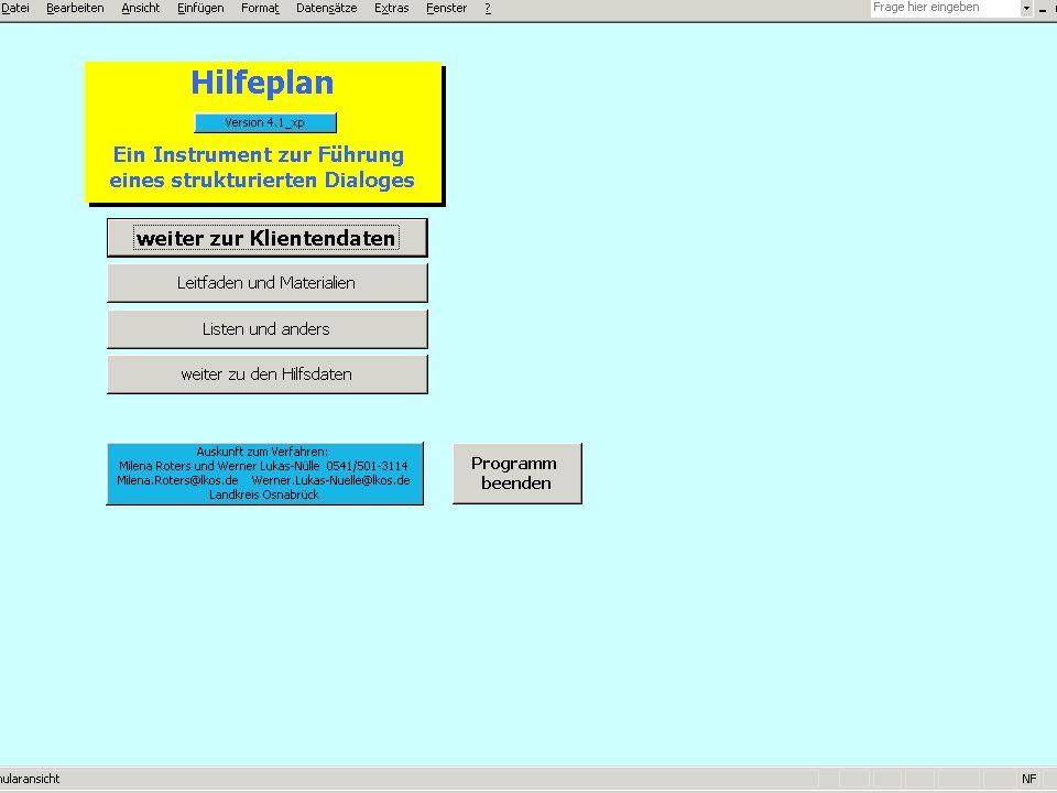 Fachstelle für Eingliederungshilfe Fachdienst Soziales E-Mail:werner.lukas-nuelle@lkos.de Folie Nr. 12 Hilfebedarfsermittlung Eine für alle am Prozess